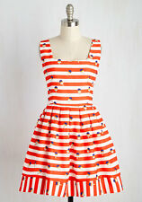 Modcloth Kling To and Frozen Dress XL Ice Cream Popsicle Nautical Treat Summer