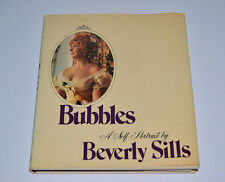 "Opera LEGEND BEVERLY SILLS Flat Signed ""Bubble-A Self Portrait by Beverly Sills"