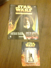THE CLASSIC STAR WARS FIGURINE COLLECTION W MAGAZINE OBI WAN KENOBI ISSUE 11