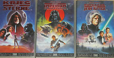 Star Wars 4, 5, 6 - VHS/SciFi/Harrison Ford/Mark Hamill/Carrie Fisher/FOX