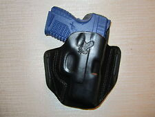 XDS 3.3,  9 MM & XDS 45 CAL.  formed leather pancake owb belt holster