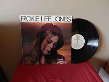 """RICKIE LEE JONES: RICKIE LEE JONES       12""""     33 RPM   LP"""
