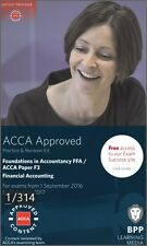 ACCA F3, Financial Accounting, P&R Kit (PDF) 2016-2017