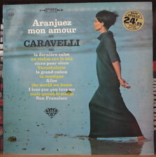 CARAVELLI ARANJUEZ MON AMOUR CHEESECAKE ORIG FRENCH LP