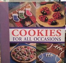 �� COOKIES for All Occasions: Recipes Children Holidays 2002 Cookbook Hardcover