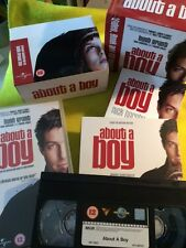 """""""About a Boy"""" Paperback Book CD & Video Pack by Nick Hornby Boxed (Scuffed)"""