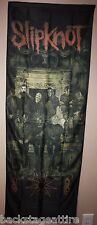 Slipknot Crest Fireplace Paul Gray Textile Fabric Poster Flag Wall Tapestry-New!