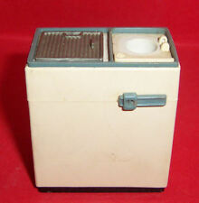 VINTAGE DOLLS HOUSE TRIANG SPOT-ON TWIN TUB WASHING MACHINE