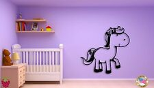 Wall Sticker For Kids Baby Horse Cool Decor for Nursery Room z1407