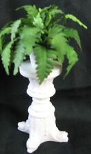 Dollhouse Miniature Fern Plant on Victorian Pedestal Doll House Furniture