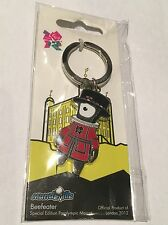 London Paralympics 2012 Mandeville Metal Beefeater Key Ring