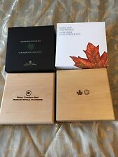 1 Kilo Fine Silver Coins - Maple Leaf Forever - Mintage: 500 (2016), 1200 (2012)