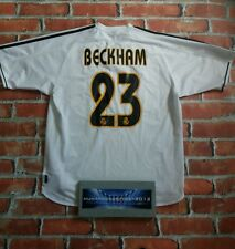 WOW! XL Beckham Real-Madrid Spain-l 2004-2005  - David Beckham-23 RARE