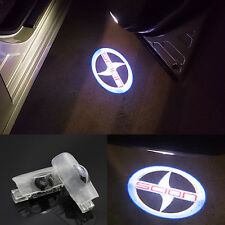 1pair LED door step courtesy laser projector lights For Toyota scion 2000 - 2016
