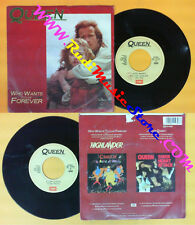 LP 45 7'' QUEEN Who wants to live forever Killer queen 1974 italy no cd mc dvd