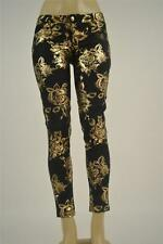 Siwy Womens Denim Hannah Slim Crop in Bloom BLM size 24