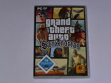 Grand Theft Auto: San Andreas (dt.) (PC, 2007, DVD-Box)