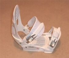 NEW SP RX 720 SNOWBOARD BINDINGS (S/M) White