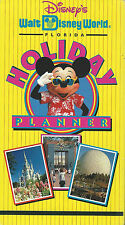 Disney's Walt Disney World Florida Holiday Planner (VHS Tape, 1995)