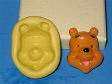 Winnie The Pooh 2D Push Mold Fondant Silicone A205 Cake Topper Resin Clay Pop