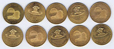 WHOLESALE 100 DAKOTA CENTENNIAL GENERAL G CUSTER MEDALS