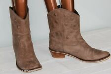 Bottines  FRIIS COMPANY  Cuir Marron T 41   TBE