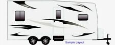 RV, Trailer, Camper, Motorhome Large Vinyl Decals/Graphics Kit-K-0001