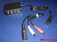 Aux (Audio IN) Expander Control (for Bang & Olufsen B&O Audio Systems) + Cables