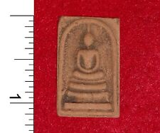 Thai Buddha Amulet (clay) from a Buddhist Temple in Bangkok                50710