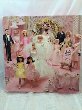 Vintage Springbok BARBIE Puzzle Wedding Fashions Dolls COMPLETE