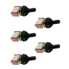 5 x On/Off Mini Miniature Toggle Switch Model Railway Car Dashboard Cap Sales
