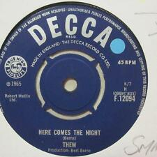 "Them (7"" Vinyl 2nd State)Here Comes The Night / All For Myself-UK-Ex/Ex"