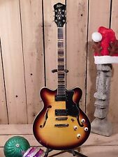 Hofner Verythin Vintage Sunburst Electric Guitar - New- BEST PRICE!