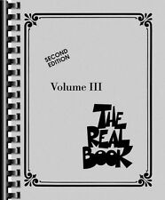 The Real Book Volume III Sheet Music C Edition Real Book Fake Book NEW 000240233