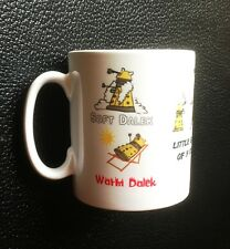 Soft Kitty Inspired Dr. Who Gold Dalek Mug