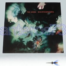 "THE CURE ""DISINTEGRATION"" RARE LP FICTION 1989 MINT"