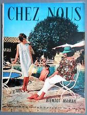 ►CHEZ NOUS N°23 /1964 - JEAN-PIERRE et TINA AUMONT