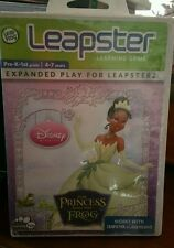 The Princess and The Frog ( No Booklet) LEAPSTER 4-7 YEARS ������ FAST POST