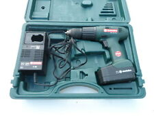 (Used) Metabo SBT 15.6 Plus Cordless Drill Set. Bundled with Acc.