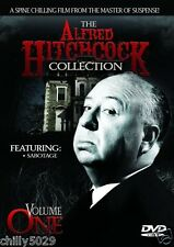 The Alfred Hitchcock Collection Vol. 1 - Sabotage (DVD, 2000) Brand New #