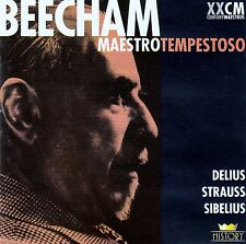 SIR THOMAS BEECHAM : FREDERIK DELIUS, RICHARD STRAUSS, JEAN SIBELIUS / 2 CD-SET