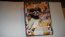 Why Can't they run like O.J.Simpson -Sports illustrated 10/8/1990