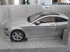 1:18 NOREV MERCEDES BENZ S CLASS COUPE - DEALER EDITION **REDUCED TO CLEAR**