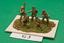 SGTS MESS G03 1/72 Diecast WWII German Infantry-Command-5 Figures