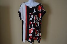 WOMEN'S MULTI COLOR TUNIC STYLE TOP- WORTHINGTON LABEL- SIZE XL- NWT