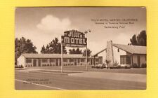 Merced,CA California, Hill's Motel, gateway to Yosemite N.P. Mr & Mrs E.R.Salter