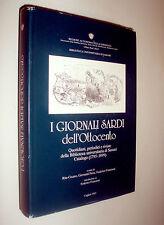 giornali sardi dell'Ottocento : quotidiani, periodici e riviste