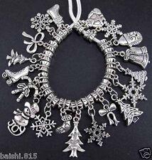 20pcs Lots Charms Mix Dangles Beads Fit European Bracelet DIY
