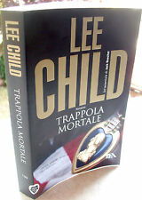 2012 ROMANZO DI LEE CHILD 'TRAPPOLA MORTALE' THRILLER CON JACK REACHER