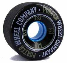 PORTER Mini Mono Wheel 65mm 80a Black Longboard Mini crucero Skate